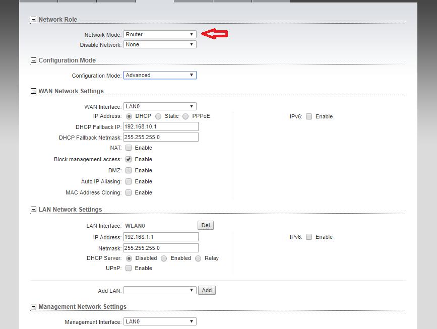 How to configure Ubiquiti PowerBeam