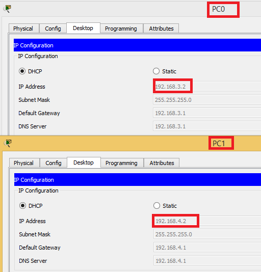 Configure Cisco dhcp relay agents