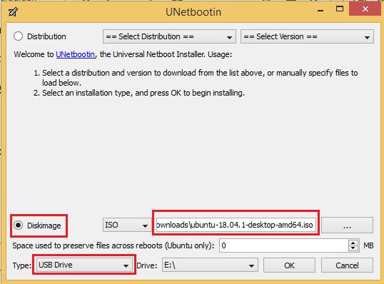 install and run Ubuntu from USB drive