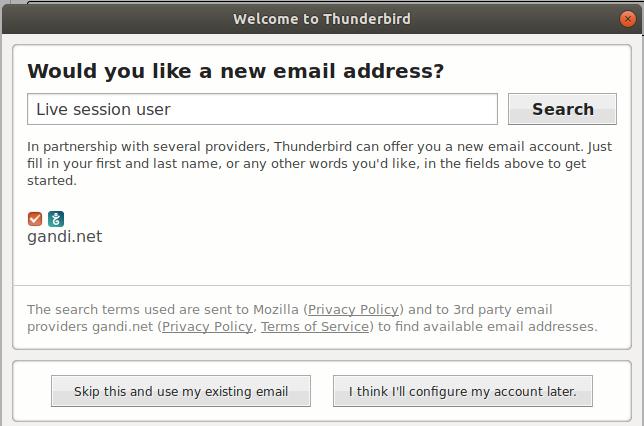 thunderbird email