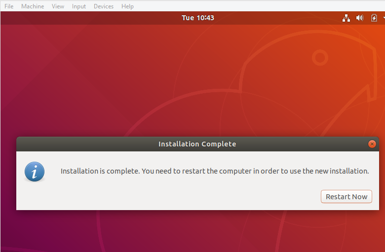 ubuntu on virtualbox