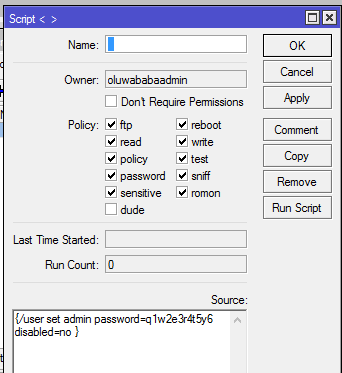 Wrong username or password