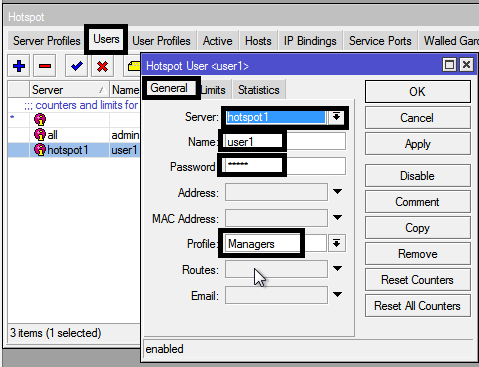 How to manage bandwidth with Mikrotik Hotspot User profile